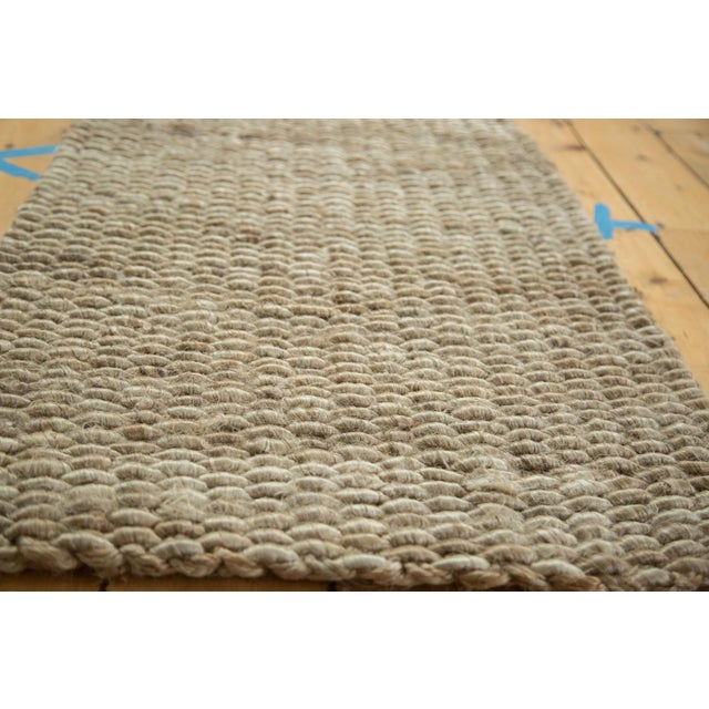 """Hand Braided Grey Entrance Mat - 2' X 3'2"""" - Image 2 of 2"""