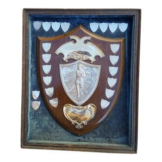 Vintage Silver 30s Marathon Trophy