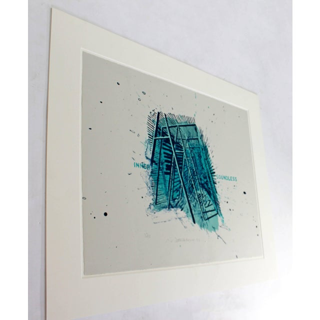 For your consideration is an unframed print, signed by Robert Stackhouse, numbered 33/75, dated 1992. In excellent...
