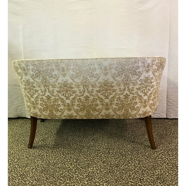 Vintage Neoclassical Settee With Nailhead Detail - Image 7 of 11
