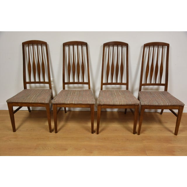 Mid-Century Keller Dining Chairs - Set of 4 - Image 2 of 11