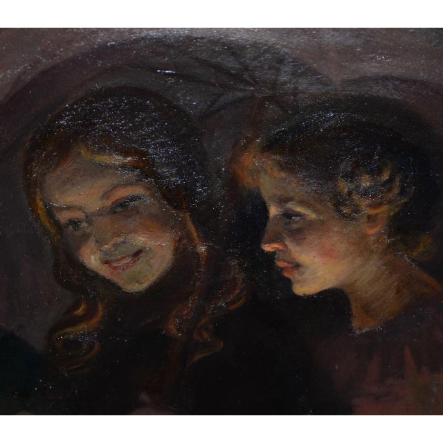 Jacob Weinles (Poland, 1870-1938) Original Oil Painting c.1920 Fine oil painting on board by listed Polish artist Jacob...