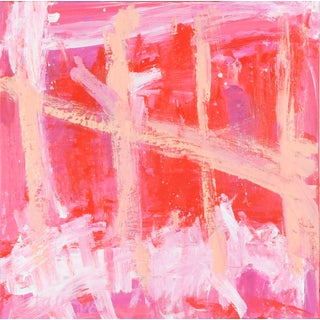 "Robbie Kemper ""5 Pink"" Contemporary Abstract Painting For Sale"