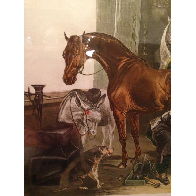 Fc Turner English Horse Shoeing Engraving - Image 4 of 8