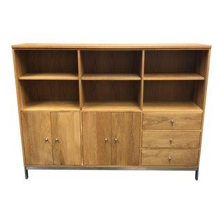 Room & Board Custom Linear White Oak Cabinet