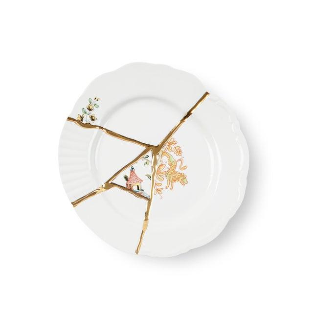 Contemporary Seletti, Kintsugi Dessert Plate 2, Marcantonio, 2018 For Sale - Image 3 of 3