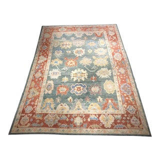 "Bellwether Rugs ""Riley"" Old Look Oushak - 10′1″ × 14′1″ For Sale"