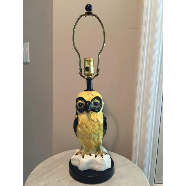 Vintage Italian Bitossi Raymor Owl Lamp - Image 2 of 9