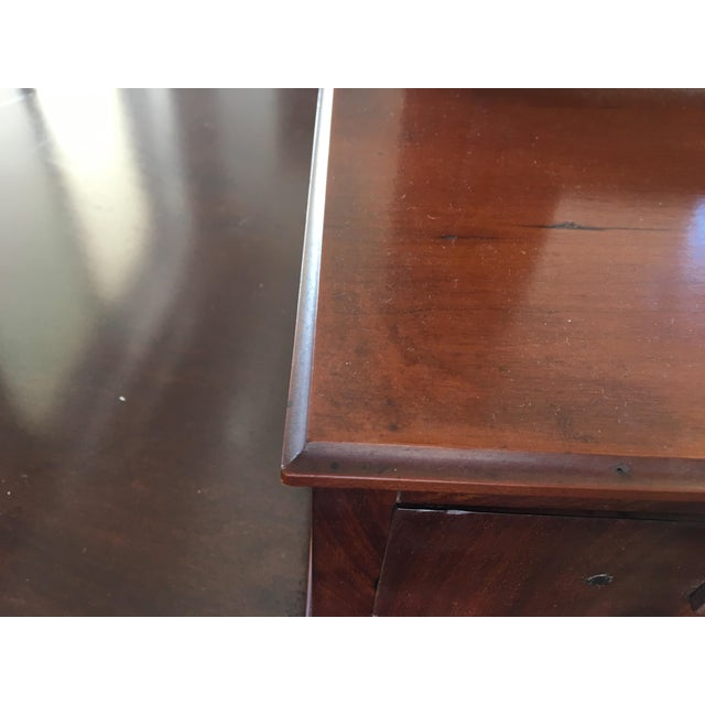 Antique Biedermeier Era Table Mirror (Free Shipping) For Sale In Orlando - Image 6 of 8