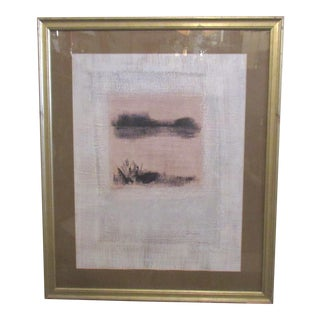 Framed Abstract Print For Sale