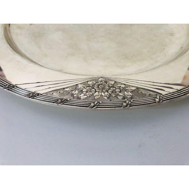 Vintage International Silver Company BARBOUR S.P. Co. 36 Y /14 Serving Platter /Tray , Polished in very good condition,...