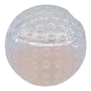 Lucite Golf Ball Ice Bucket