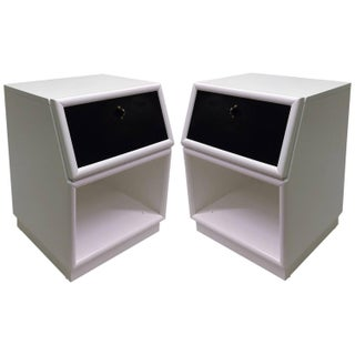 Two-Tone Nightstands by Henredon - Pair