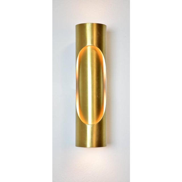 Spanish Mid-Century Modern Sconces - A Pair For Sale In Palm Springs - Image 6 of 7