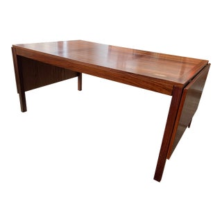 Rosewood Drop Leaf Table by Vejle Stole & Mobelfabrik For Sale