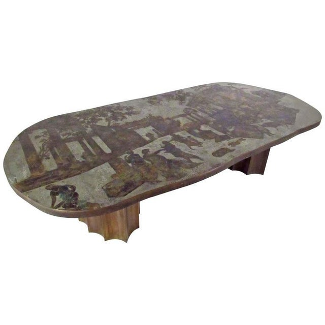 Vintage Philip & Kelvin Laverne Free Form Odyssey II Coffee Table For Sale - Image 11 of 11
