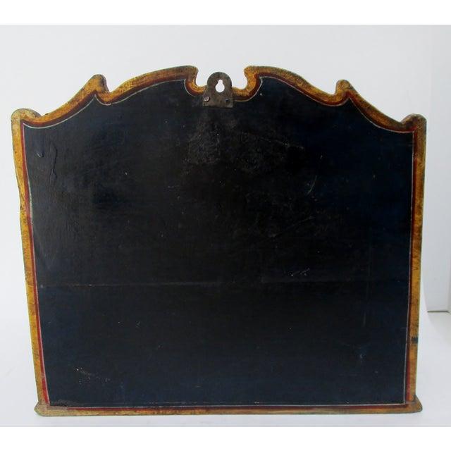 Blue Hanging Wood Letter Holder For Sale - Image 8 of 8
