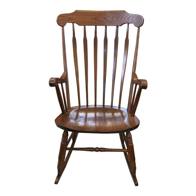 Vintage S. Bent & Bros. Rocking Chair For Sale