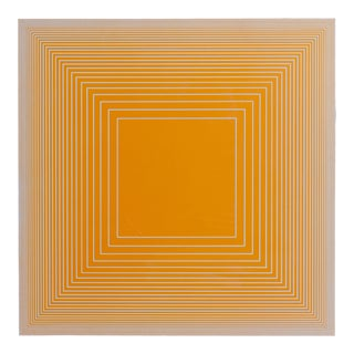 Richard Anuszkiewicz, Spectral Nine D, Op Art Screenprint on Panel For Sale
