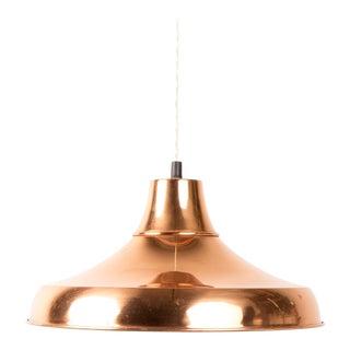 1970s Danish Brass Mid-Century Pendant Lamp