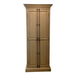Restoration Hardware Narrow Double Door Cabinet For Sale