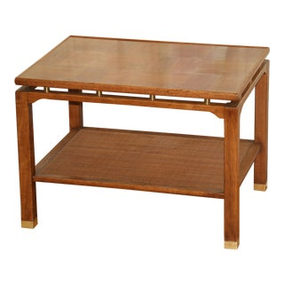 Sligh Lowry Furniture Co. Parquet End Table For Sale