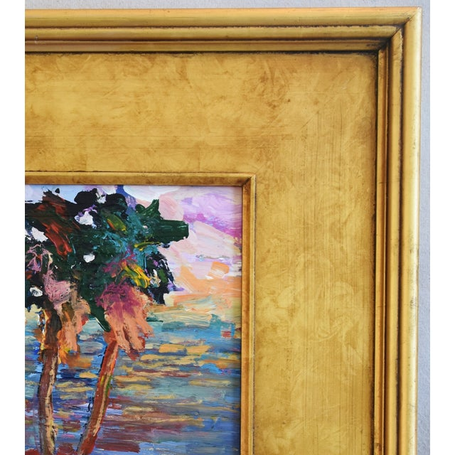 California Impressionist Landscape Seascape Painting by Juan Guzman For Sale - Image 4 of 9
