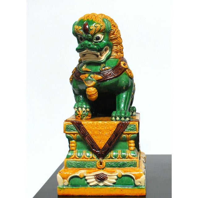 Chinese Imperial Foo Dog Lion Protector - Image 2 of 4