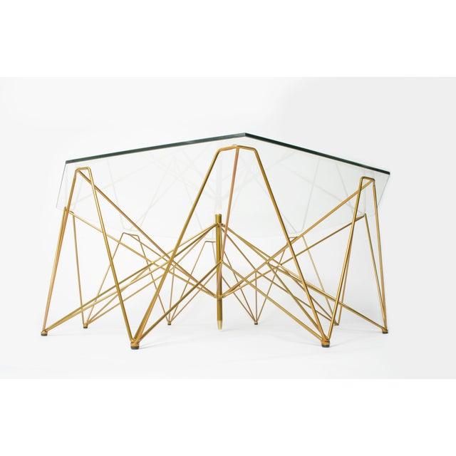 Sculptural Metal Coffee Table - Image 4 of 4