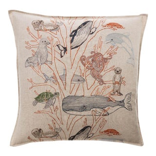 Coral Forest Pillow For Sale