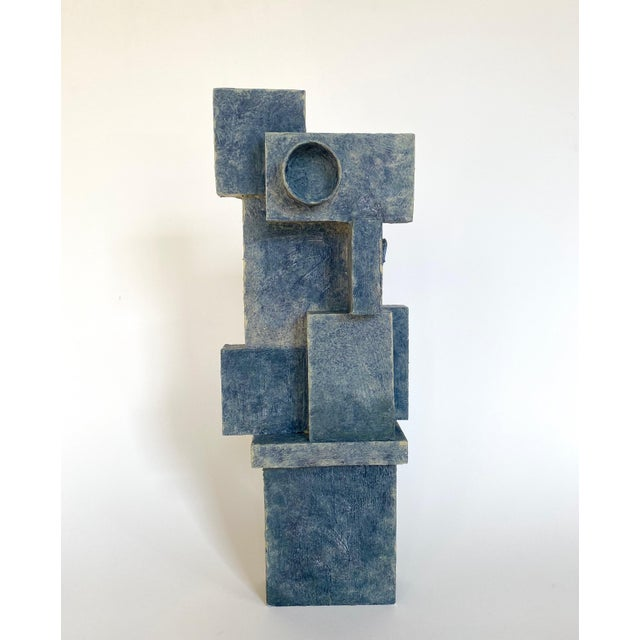 Mid-Century Modernist / Cubist Abstract Sculpture For Sale In Oklahoma City - Image 6 of 6