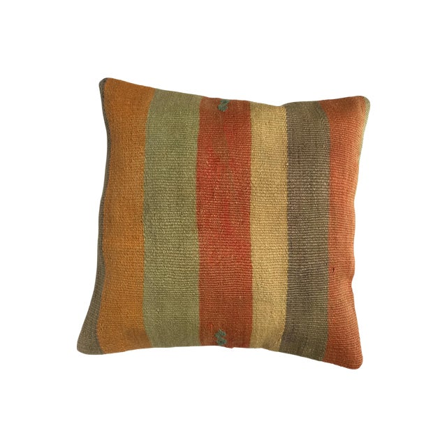 Handmade Vintage Pillow Cover - Image 1 of 5