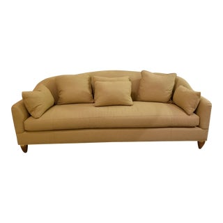 Baker Furniture 6701s Barbara Barry Soiree Sofa & Pillows For Sale