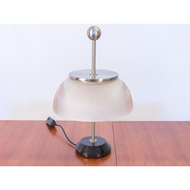 "Italian modern table lamp ""Alfa"" designed by Sergio Mazza for Artemide. Our vintage example is a later reissue of the..."