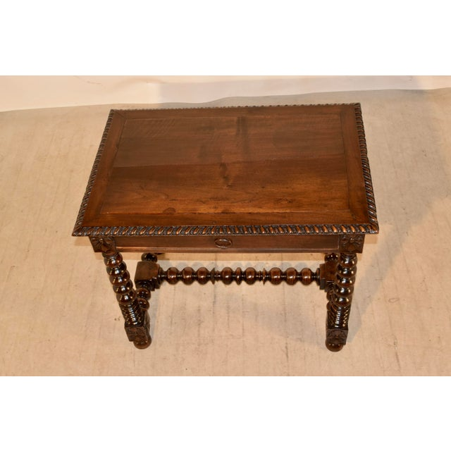18th Century 18th Century Walnut Side Table For Sale - Image 5 of 10