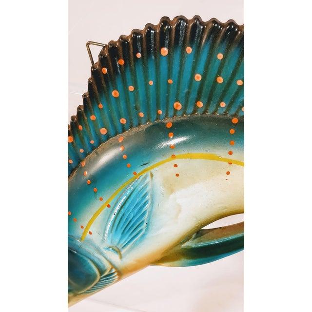 Mid 20th Century Vintage Fiberglass Swordfish Plastic Wall Sculpture For Sale - Image 5 of 6