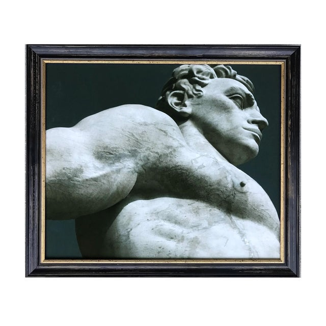 James White Statuary at the Stadio Dei Marmi, Rome Photograph For Sale