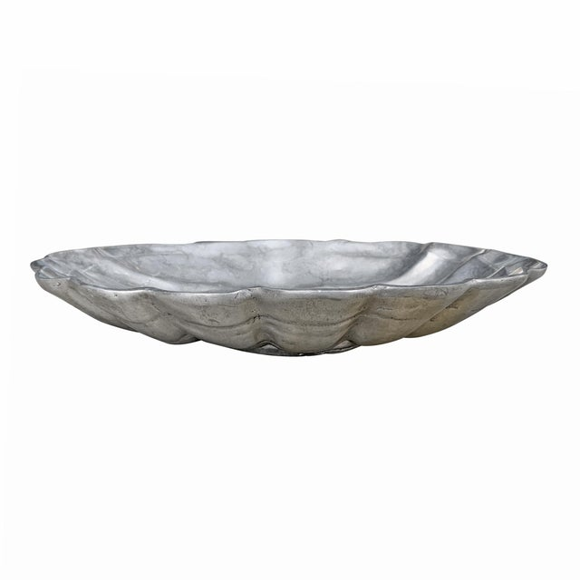 Late 20th Century Large Clam Shell Bowl For Sale - Image 5 of 10