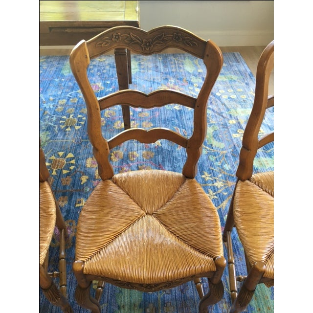 Pierre Deux French Country Dining Chairs - 6 For Sale In San Francisco - Image 6 of 11