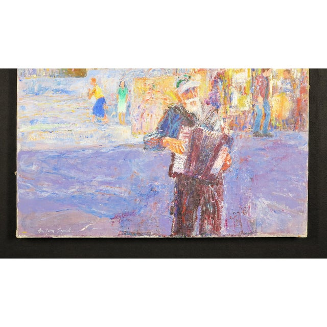 This gorgeous painting comes from the master impressionist Anton Sipos. Born is Bosnia in 1938, Sipos hypnotic interest in...