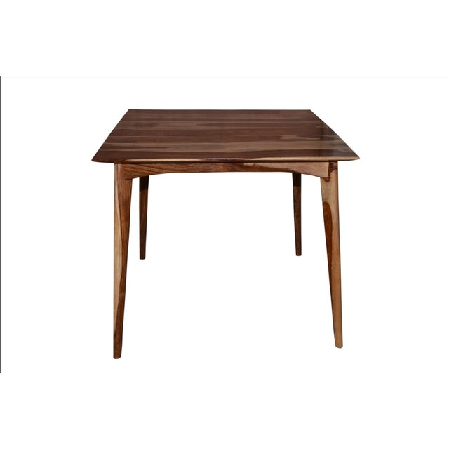 Wooden Bar Table & Stools - Set of 5 - Image 3 of 5