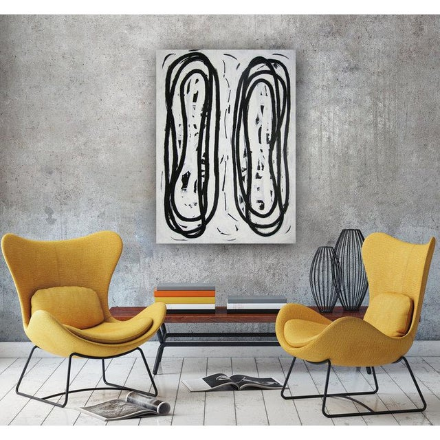 Gallery-wrapped painted canvas sides. Ready to Hang. Framing optional. Signed by artist