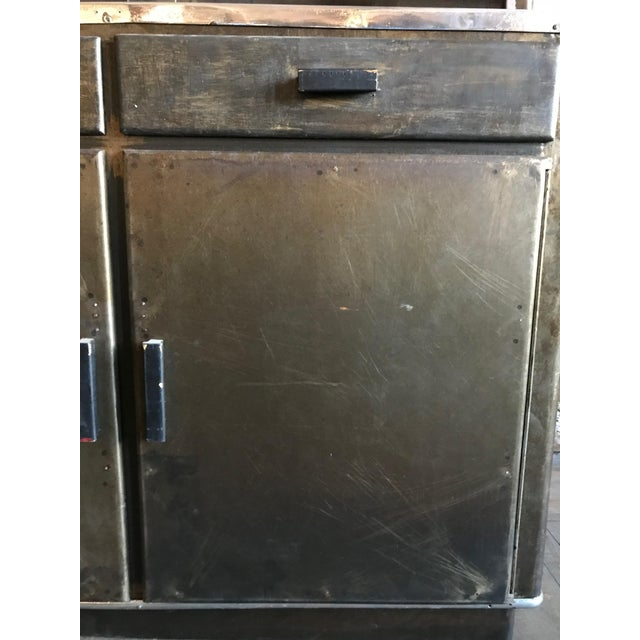Metal Bar Cabinet For Sale In San Francisco - Image 6 of 9