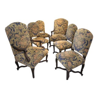 Late 18th Century French Chairs - Set of 6 For Sale