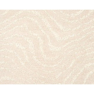 Hinson for the House of Scalamandre Boomerang Fabric in Ivory For Sale
