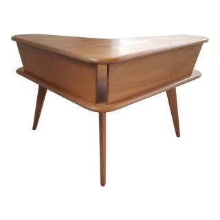 1950s Mid Century Modern Heywood Wakefield Aristocraft Corner Table