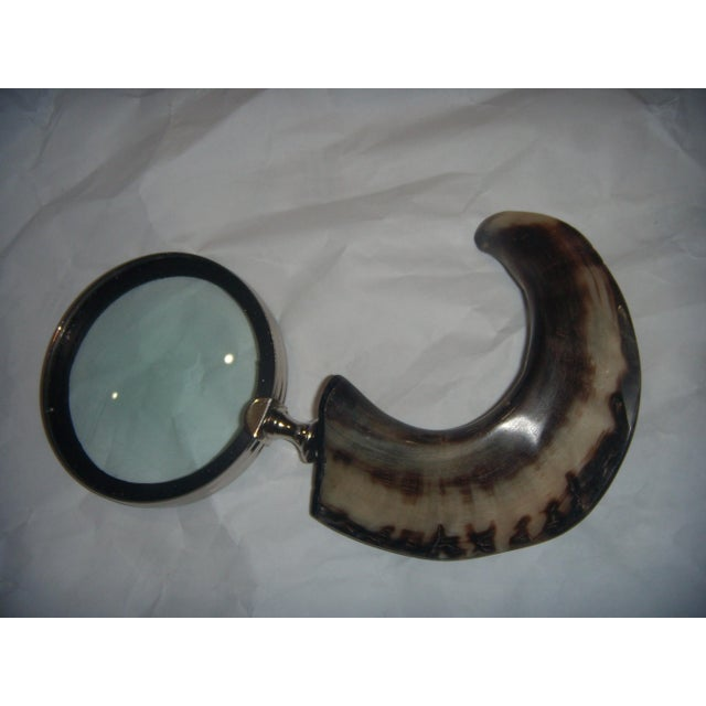Horn Handle Magnifying Glass - Image 2 of 5