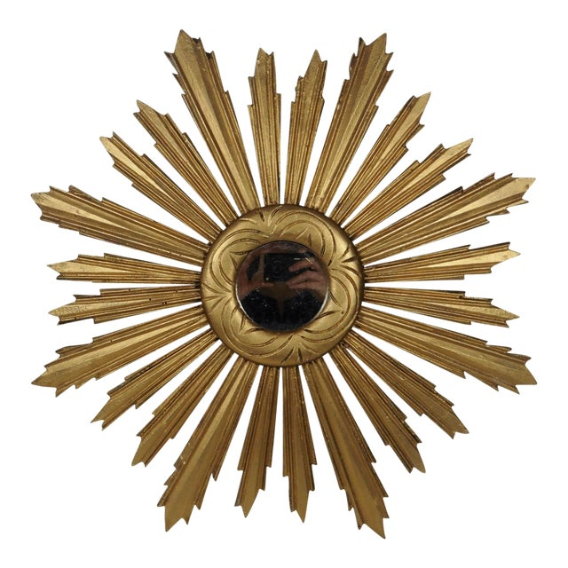 Gilded Sunburst Mirror - Image 1 of 3