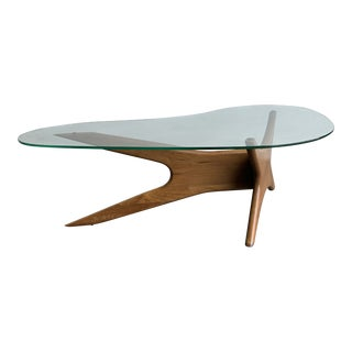 1960s Mid Century Coffee Table by Adrian Pearsall for Craft Associates For Sale