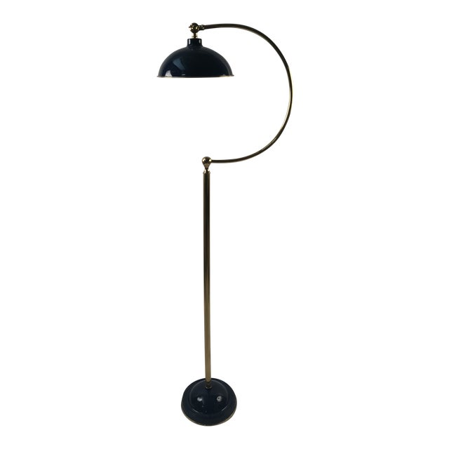 Bungalow 5 Spencer Floor Lamp Royal Blue For Sale